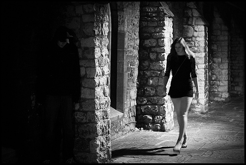 Walking home-alone