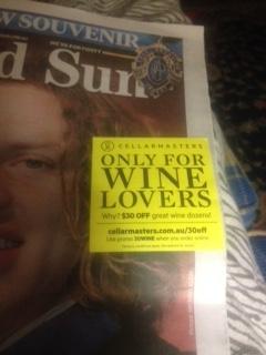 Newspaper Alcohol